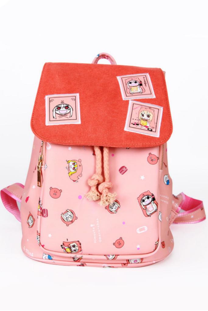 Bookbag clipart kawaii. Pink umaru chan anime
