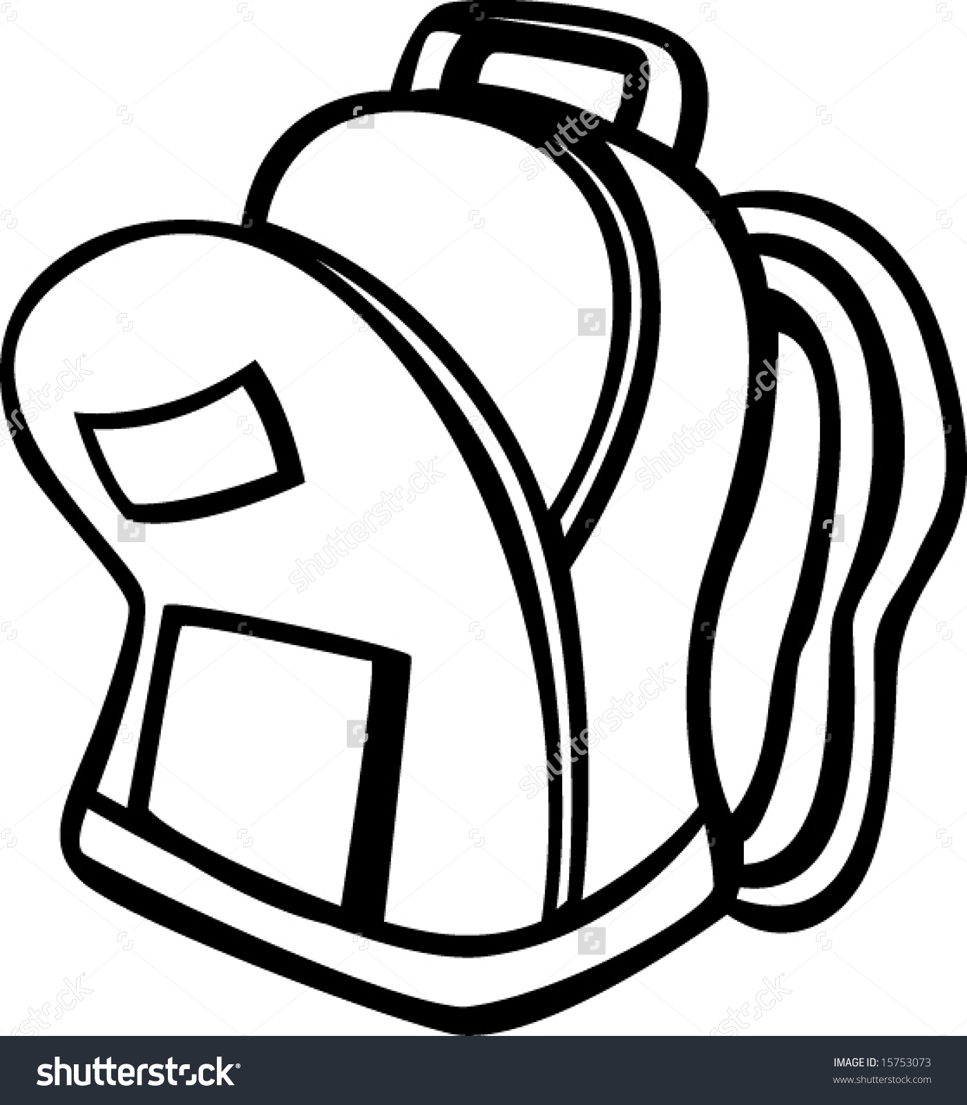 Backpack clipart open. Free download best on