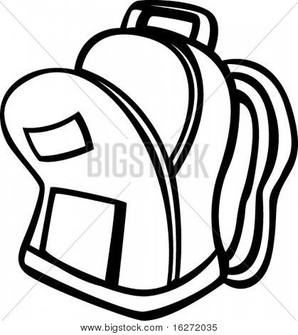 Bookbag clipart open. Drawing free download best