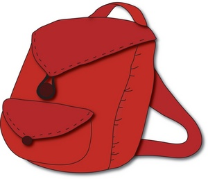 Bookbag clipart red. Free backpack download clip
