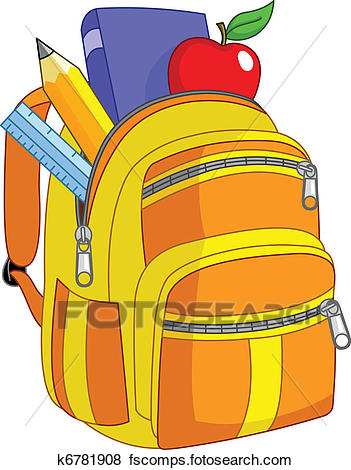 Bookbag clipart thing. Backpacks free download best