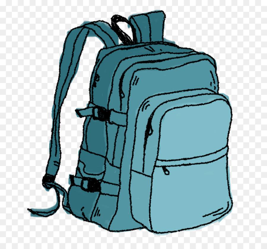Bookbag clipart thing. Backpack cartoon transparent clip