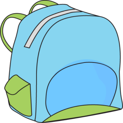 Backpack school roblox . Bookbag clipart thing