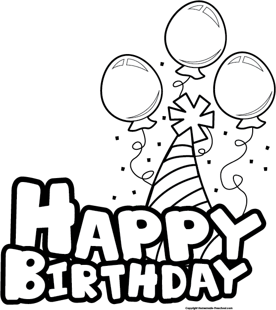 Free happy birthday click. Surprise clipart border