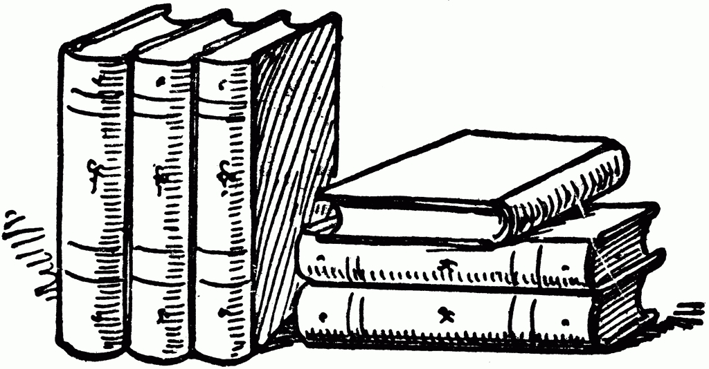 Books clipart black and white. Beautiful of school letter