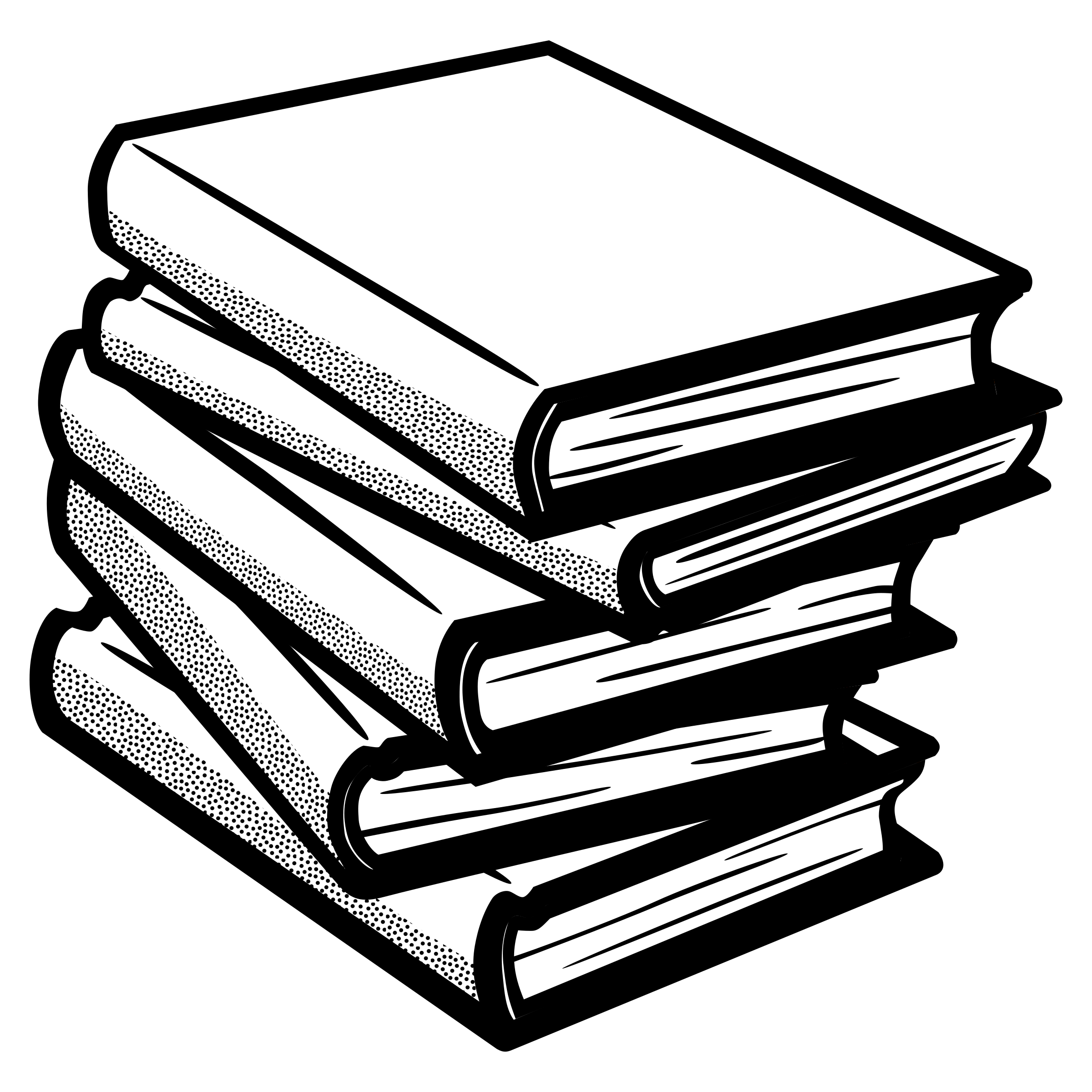 Textbook clipart thick book. Books black and white