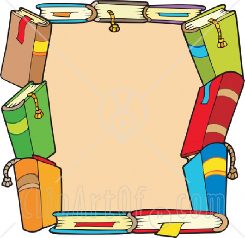 Border panda free images. Books clipart boarder
