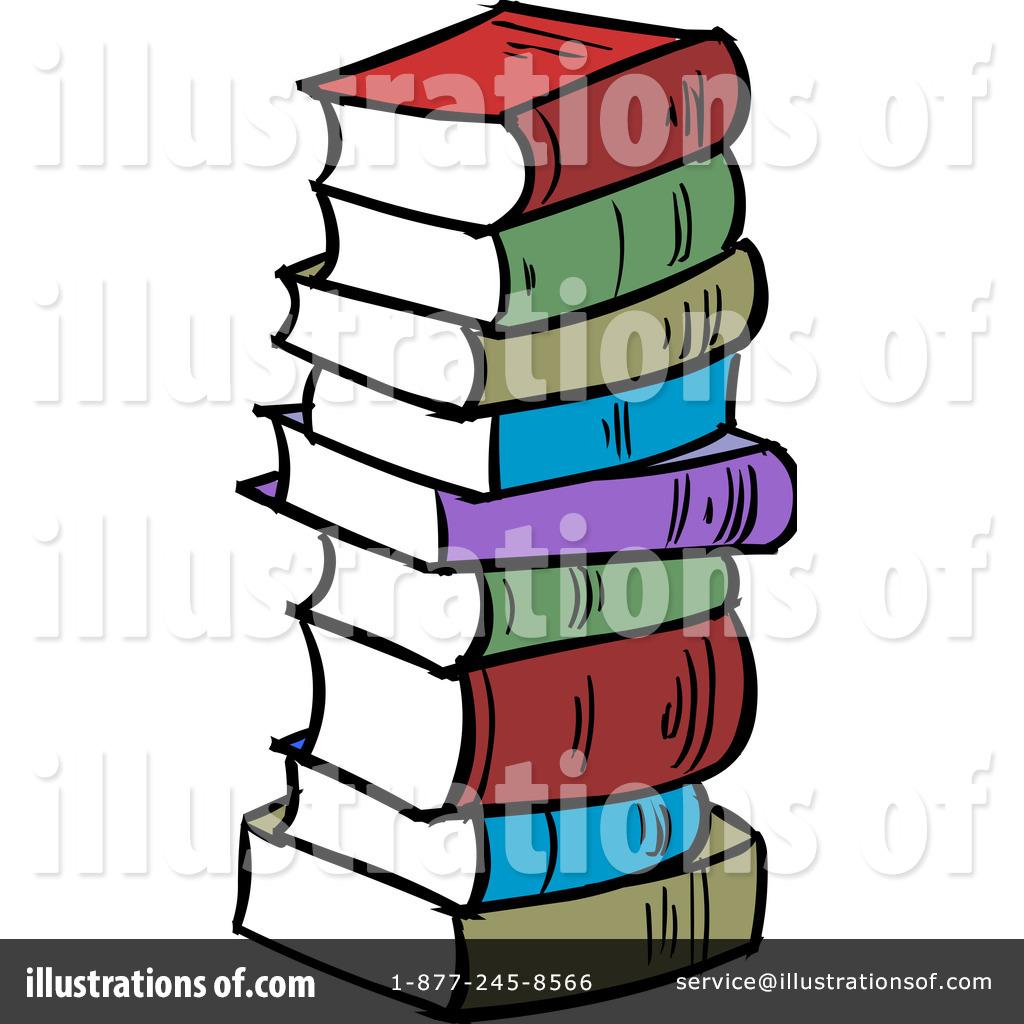 Books clipart cartoon. Illustration by solutions royaltyfree