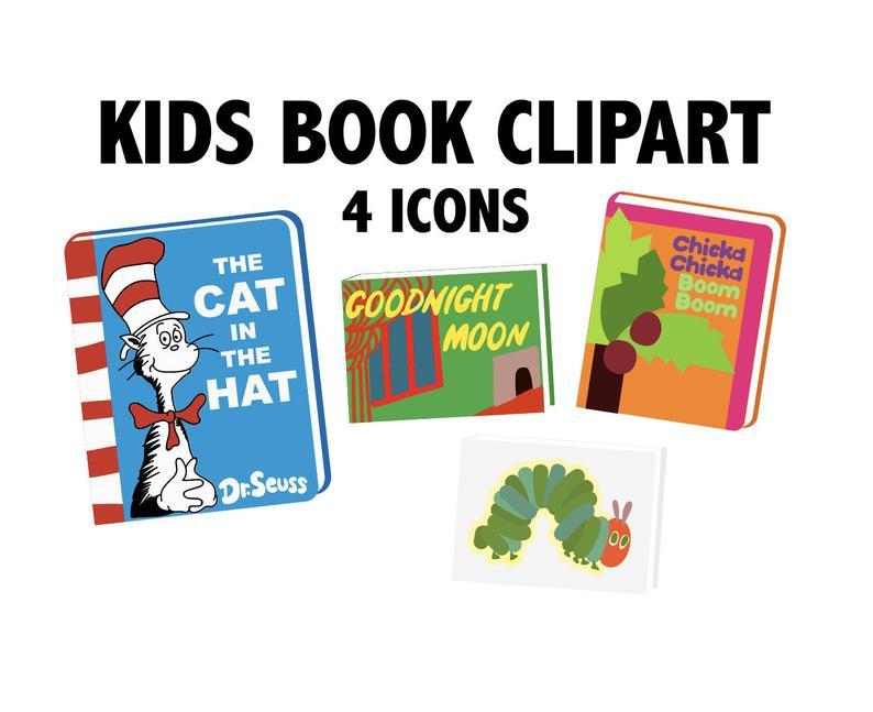 Kids . Books clipart children's book
