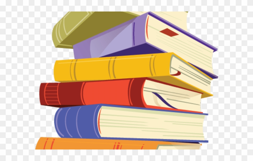 books clipart clear background
