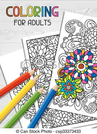 Pictures of coloring book. Books clipart colouring