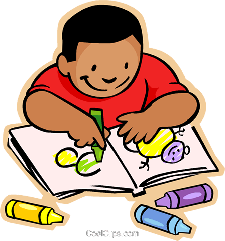 Coloring book challenging complex. Books clipart colouring