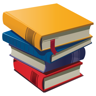 Books clipart easy. Pictures of cartoon stack