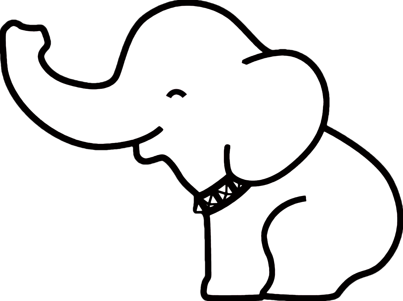 Mandala clipart elephant. Pin outline on pinterest