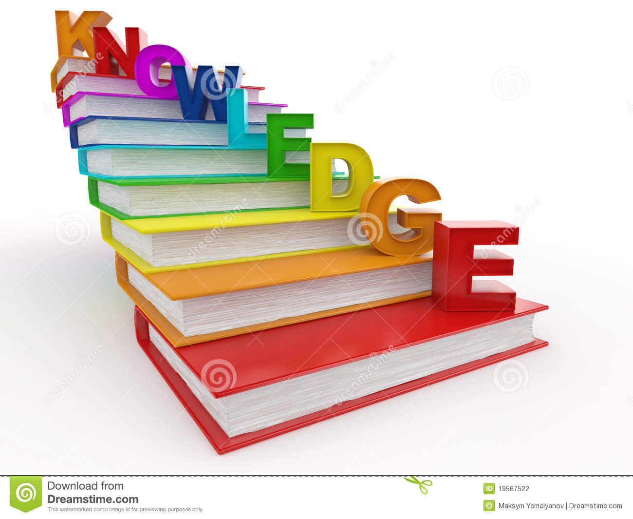 Stairs pencil and in. Knowledge clipart book