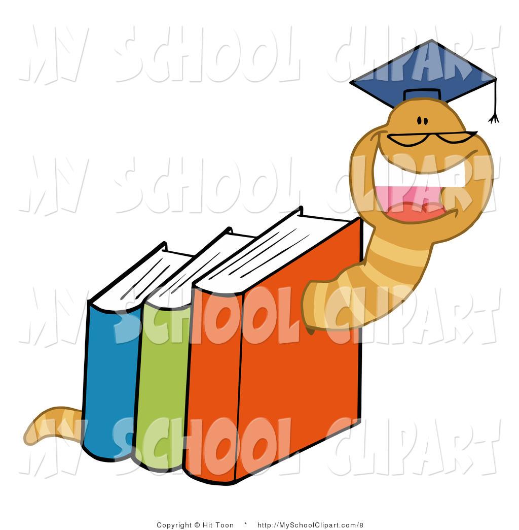 Clip art of a. Books clipart knowledge