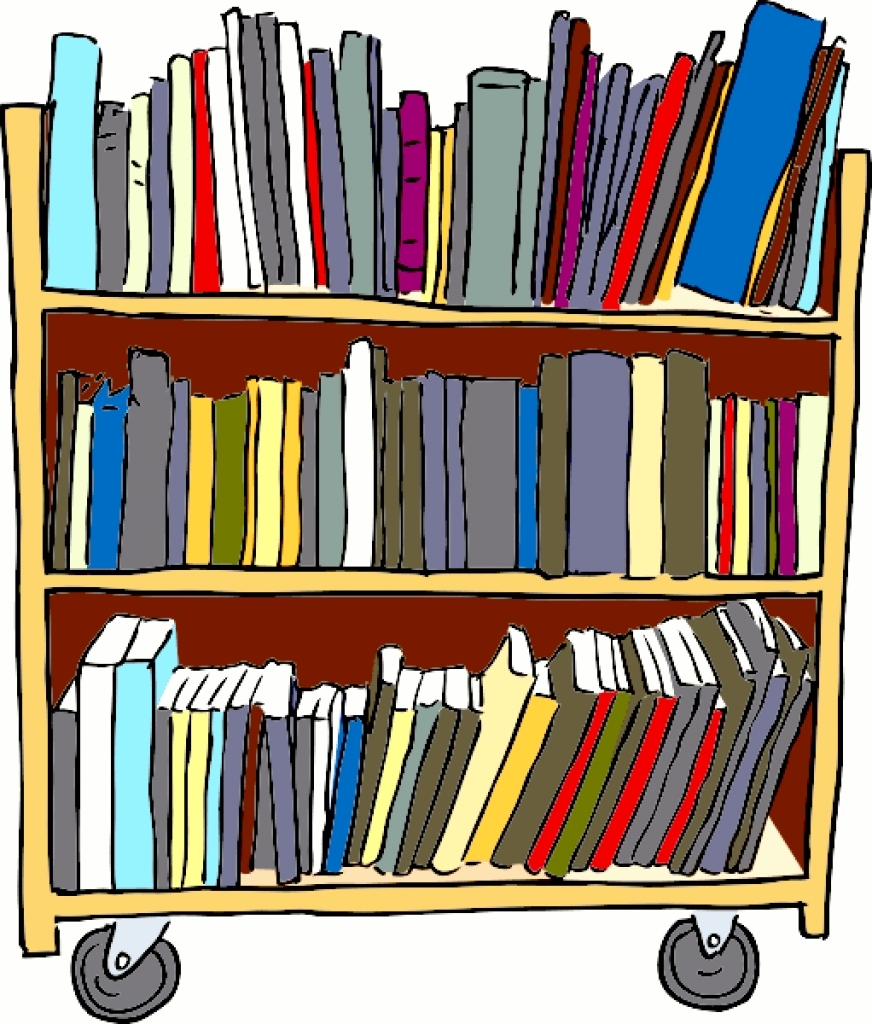 New gallery digital collection. Books clipart library