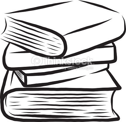 Stack Of Four Books Clipart vectoriel
