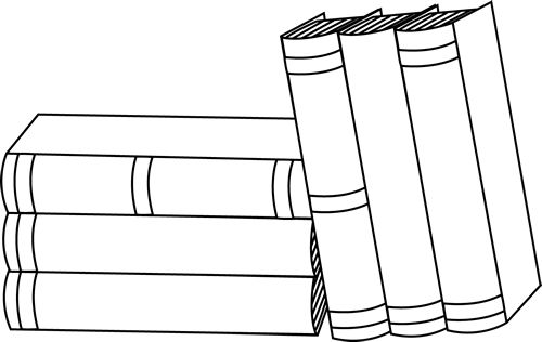 Books clipart outline. Free book download clip
