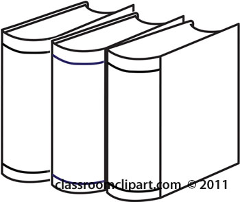 Free book download clip. Books clipart outline