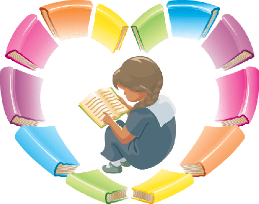 Books clipart rating. Love reading the arts