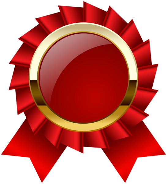 Award rosette ribbon png. Stamp clipart certification