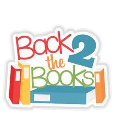 School bus svg title. Books clipart scrapbook