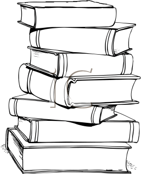 Clip art royalty free. Books clipart simple