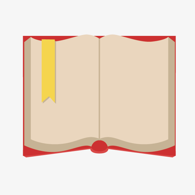 Books clipart simple. Cartoon red png image