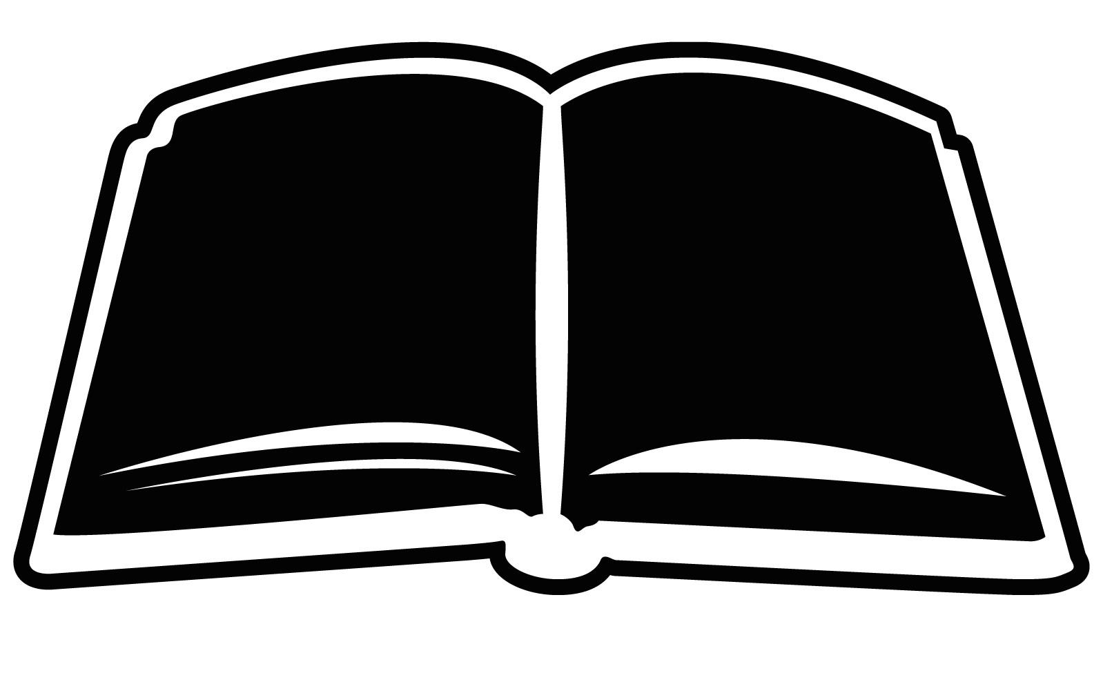 Generic book paso evolist. Books clipart simple