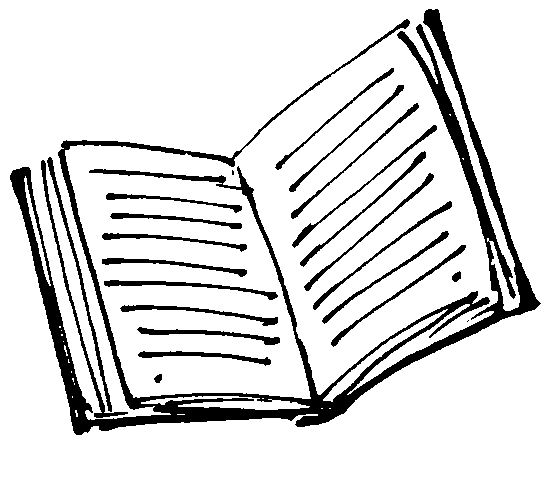 Book drawing outline at. Books clipart sketch