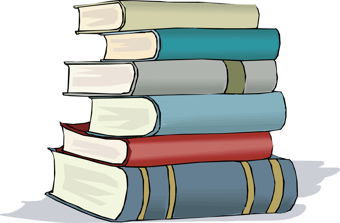 Stack of books panda. 1 clipart chapter
