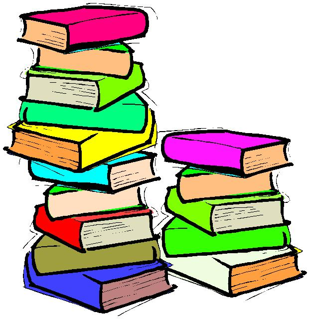 Book pile clip art. Books clipart stacked