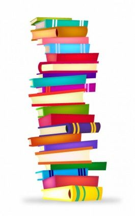 Clip art stack of. Books clipart stacked