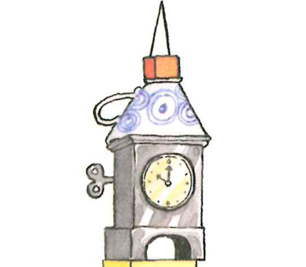 Iggy peck architect page. Books clipart tower