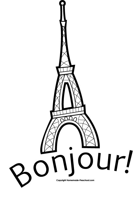 Books clipart tower. Free eiffel click to