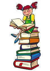 Books clipart tower. Pin by fernandita espinoza