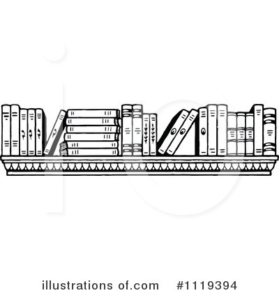 Illustration by prawny royaltyfree. Books clipart vintage
