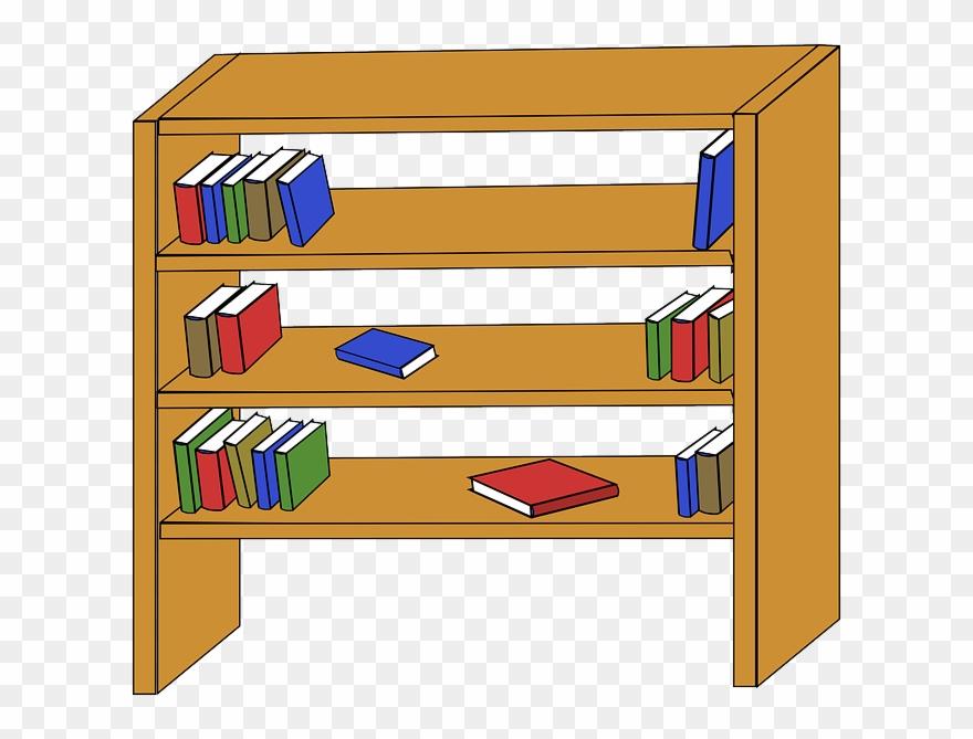 Bookshelf clipart, Bookshelf Transparent FREE for download ...