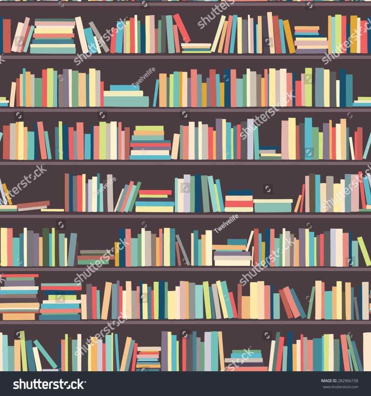 Bookshelf clipart background. Library bookshelves michelecinfo