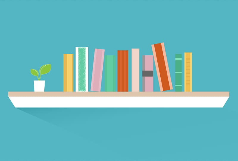 Bookcase shelf transparent png. Bookshelf clipart background