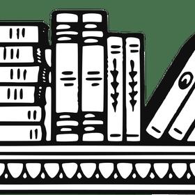 Bookshelf clipart black and white. Panda free clip art