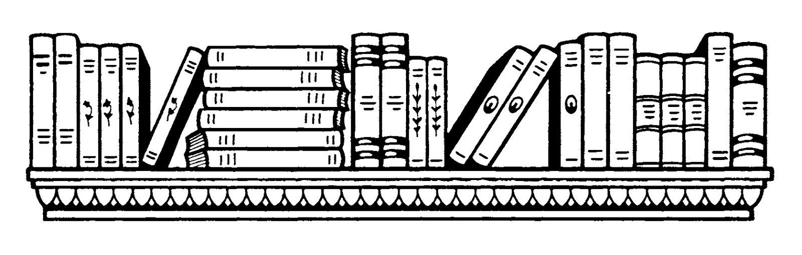 Wonderful of letter master. Bookshelf clipart black and white