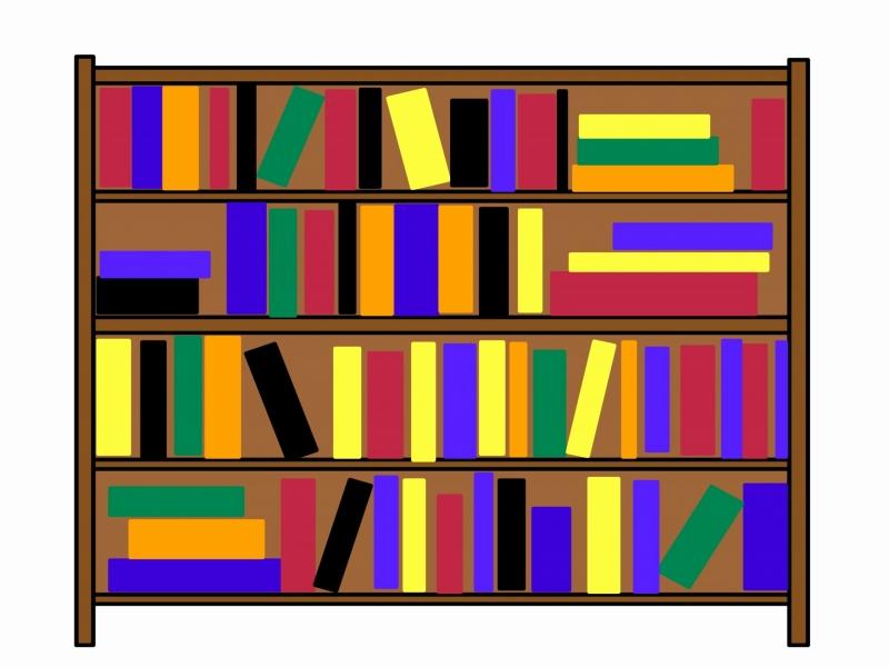 Bookshelf clipart bookcase. Black new extraordinary free