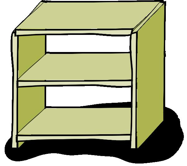 Clipground. Furniture clipart shelf