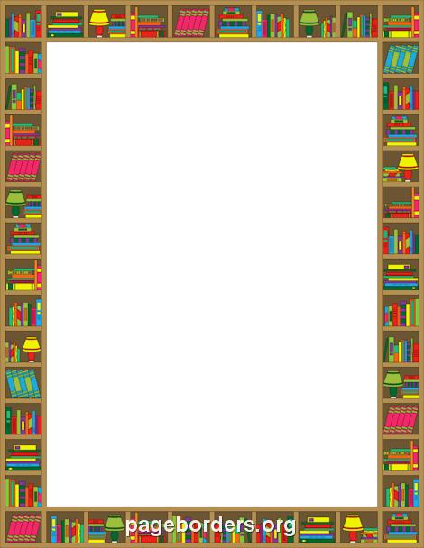 Bookshelf border