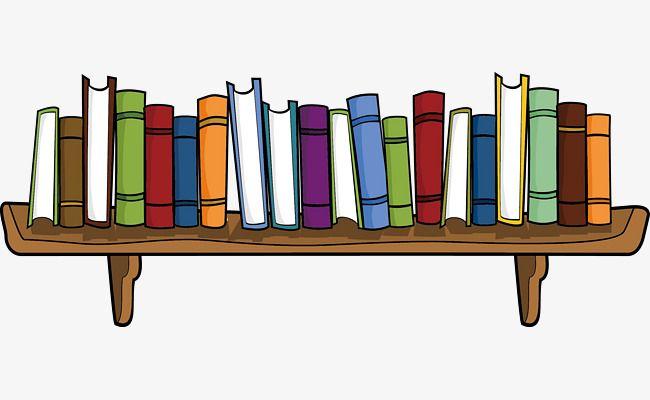 Bookshelf clipart cartoon, Bookshelf cartoon Transparent ...
