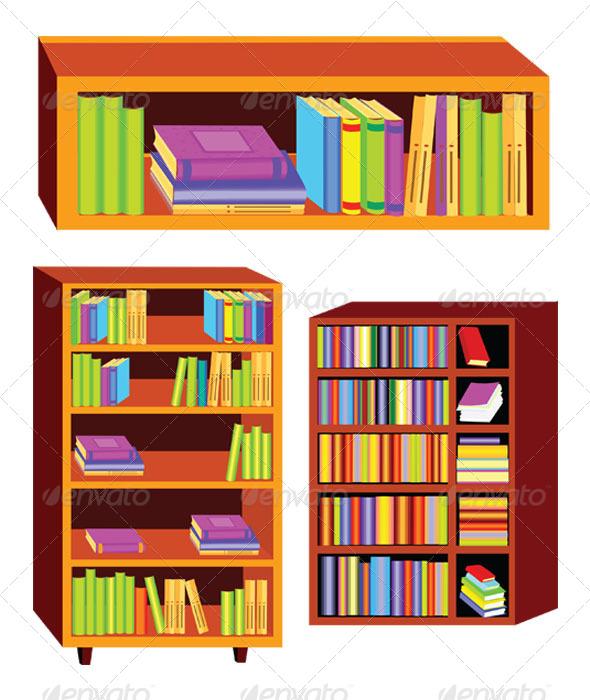 Related keywords suggestions . Bookshelf clipart cartoon