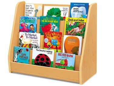 Bookshelf clipart classroom. Preschool books on shelf