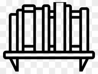 Bookshelf clipart clip art. Free png download pinclipart